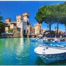 Step Puzzle Lake Garda Italy 1000 pc Jigsaw Puzzle Castle