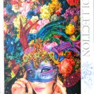 Step Puzzles Mask 1000 pc Jigsaw Puzzle Glitter Pieces Flowers Fantasy