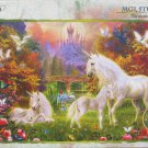STEP Puzzle The Castle Unicorns 1000 pc Jigsaw Puzzle Fantasy Unicorn