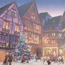 Piatnik Vintage Christmas Village 1000 pc Jigsaw Puzzle Santa Claus Nostalgia