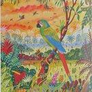 Piatnik Green Macaw 1000 pc Jigsaw Puzzle Parrots Parrot Alain Thomas Art
