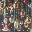 Cobble Hill Christmas Ornaments 1000 pc Jigsaw Puzzle Jo Ann Richards Santa Claus