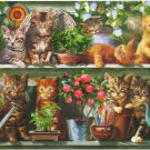 STEP Puzzle Kittens On The Shelf 1500 pc Jigsaw Puzzle