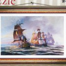 Pintoo Sea Battle 924 pc Décor Jigsaw Puzzle Plastic Pieces Frame STEP Puzzles