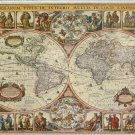 STEP Puzzle Antique Map Of The World 2000 pc Jigsaw Puzzle
