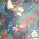Cobble Hill Rooster 1000 pc Jigsaw Puzzle Barnyard Animal Chickens Bird