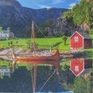 Educa Viking Ship 1500 pc Jigsaw Puzzle Norway Vikings