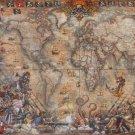 Educa Pirates Map 2000 pc Jigsaw Puzzle Treasure