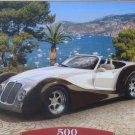 Castorland Roadster In Riviera 500 piece Jigsaw Puzzle Sportscar Musclecar