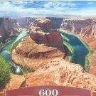 Castorland Horseshoe Bend Glen Canyon Arizona 600 piece Jigsaw Puzzle Landscape