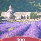 Castorland Notre Dame De Senanque France 600 pc Jigsaw Puzzle Field of Lavender