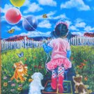 SunsOut Hopscotch 300 pc Jigsaw Puzzle Tricia Reilly Matthews