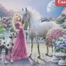 Castorland My Friend Unicorn 300 pc Jigsaw Puzzle Great Dane Castle