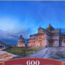 Castorland Pisa And Piazza Dei Miracoli 600 pc Jigsaw Puzzle Italy Leaning Tower Of