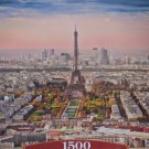 Castorland Cityscape of Paris 1500 pc Jigsaw Puzzle Skyline France Eiffel Tower