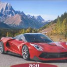 Castorland Mountain Ride 500 pc Jigsaw Puzzle Sportscars Alps