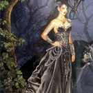 SunsOut Nene Thomas Mistress of the Lycani 1000 pc Panorama Jigsaw Puzzle Werewolf Black Dragon