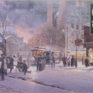 Cobble Hill Winter Flurry 1000 pc Jigsaw Puzzle Snowstorm Downtown Trolley Nostalgia Douglas Laird