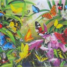SunsOut Lori Schory Tropical Butterflies 1000 pc Jigsaw Puzzle