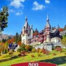 Castorland Castle Peles Romania 500 pc Jigsaw Puzzle Landscape