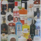 Piatnik Taste of Gin 1000 pc Jigsaw Puzzle Pop Art Collage Liquor Spirits Alcohol