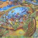 SunsOut Lewis T Johnson Sea Turtle World 1000 pc Jigsaw Puzzle
