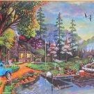 SunsOut Joshua Ben King Close To Paradise 1000 pc Panorama Jigsaw Puzzle Nostalgia Landscape