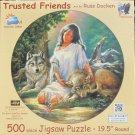 SunsOut Russ Docken Trusted Friends 1000 pc Jigsaw Puzzle Wolves