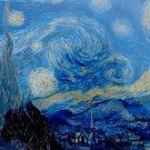Piatnik Vincent Van Gogh Starry Night 1000 pc Jigsaw Puzzle Post Impressionism