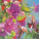 Piatnik Hummingbirds 1000 pc Jigsaw Puzzle Flowers Birds