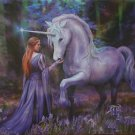 Educa Anne Stokes Bluebell Woods 1000 pc Jigsaw Puzzle Unicorn Fantasy