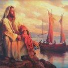 SunsOut Facing Eternity 500 pc Jigsaw Puzzle Del Parson Religious Theme