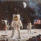 Educa First Men on the Moon 1000 pc Jigsaw Puzzle Astronauts Apollo Neil Armstrong Buzz Aldrin