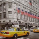 Educa Fifth Avenue New York 1000 pc Jigsaw Puzzle Colored B & W Photo Yellow Cab Taxis