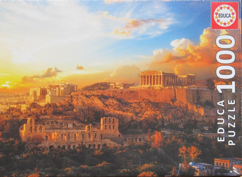 Educa Acropolis of Athens 1000 pc Jigsaw Puzzle Greece Temple