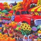 SunsOut Marketplace 300 pc Jigsaw Puzzle Farmer's Market Nancy Wernersbach