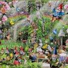 SunsOut Lori Schory Gnomes Playground 300 pc Jigsaw Puzzle Fantasy