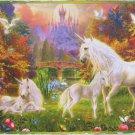 SunsOut Jan Patrick Krasny Castle Unicorns 300 pc Jigsaw Puzzle Fantasy