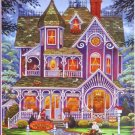 SunsOut Randal Spangler New and Used Books 300 pc Jigsaw Puzzle Bookstore Gingerbread House