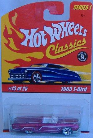 Hot Wheels 1963 Thunder Bird T-Bird Classics Collection 1 #13 of 25 Purple