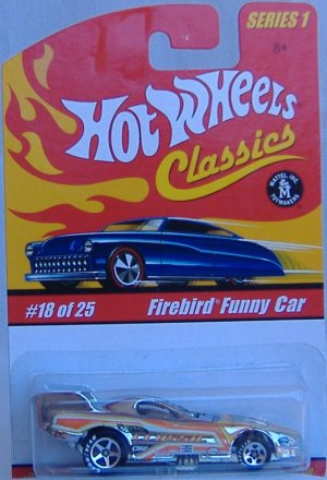 Hot Wheels Firebird Fire Bird Funy Car Classics Collection 1