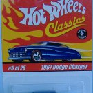Hot Wheels Classics Collection 1 1967 Dodge Charger Special Paint and Tampos