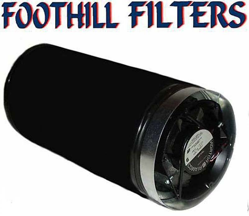 8 X 14 ACTIVATED CARBON ODOR SCRUBBER WITH 240 CFM **REFILLABLE**