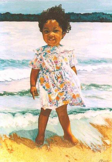 Commissioned Art OOAK Original Portrait Painting 16x20