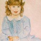 Commissioned Art OOAK Original Portrait Painting 20x24