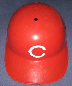 Cincinnati Reds Full Size Souvenir MLB Baseball Batting Helmet with Red Bill
