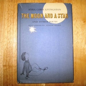 The Moon and a Star small Poetry Book 1965 First Edition by Myra Cohn Livingston