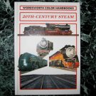 20th Century Steam 96 page Train Steam Engine Locomotive Hardback Photo Book by Derek Avery