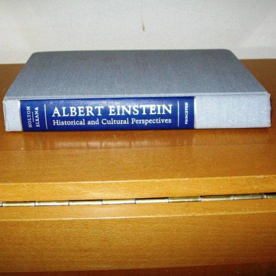 Albert Einstein Historical and Cultural Perspectives Book Hardback Princeton c 1982