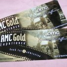 2 AMC Theatre tickets.